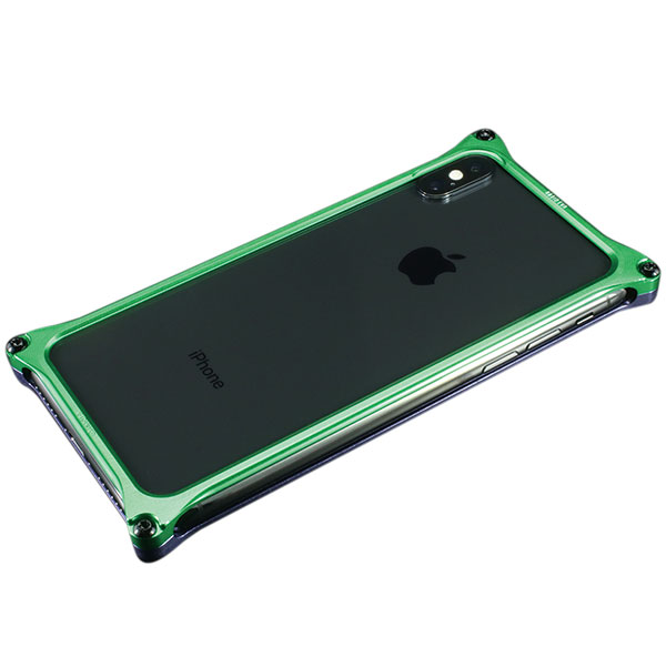 GILD design iPhone XS / X Solid Bumper (EVANGELION Limited) エヴァンゲリオン初号機