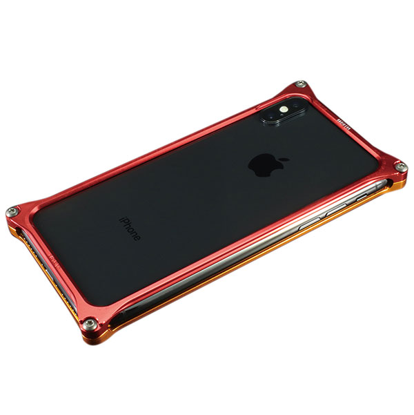 GILD design iPhone XS / X Solid Bumper (EVANGELION Limited) エヴァンゲリオン2号機
