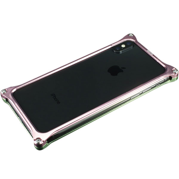 GILD design iPhone XS / X Solid Bumper (EVANGELION Limited) MARI MODEL
