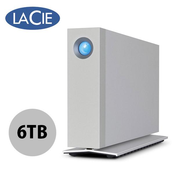 Lacie 6TB d2 Thunderbolt 3 外付ハードディスク