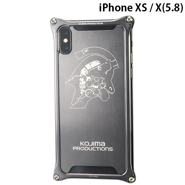 GILD design iPhone XS / X Solid Bumper Kojima Productions Logo Ver.