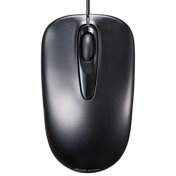 SANWA 有線光学式マウス ブラック