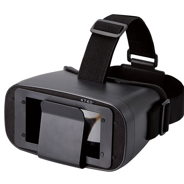 エレコム VR・ARグラス 1眼レンズ スタンダード ブラック