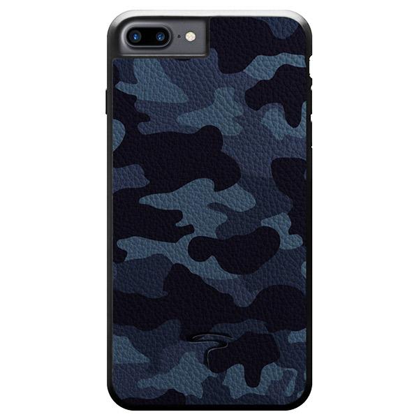 Toria Design iPhone 8 Plus / 7 Plus Camo Navy 迷彩柄