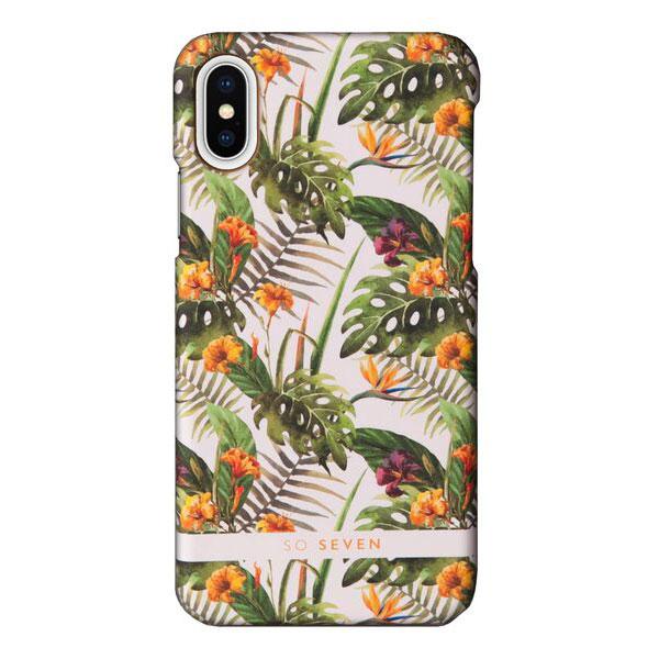 SO SEVEN iPhone XS / X RIO DE JANEIRO YELLOW HIBISCUS