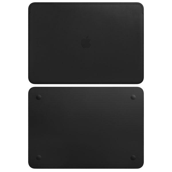 Apple 15インチ MacBook Pro 用 レザースリーブ ブラック