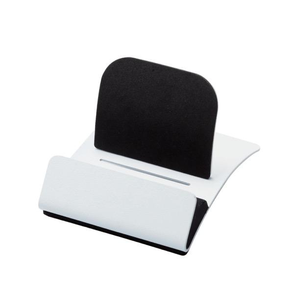 エレコム タブレット用スチールスタンド / ケーブル差込可能 / ホワイト