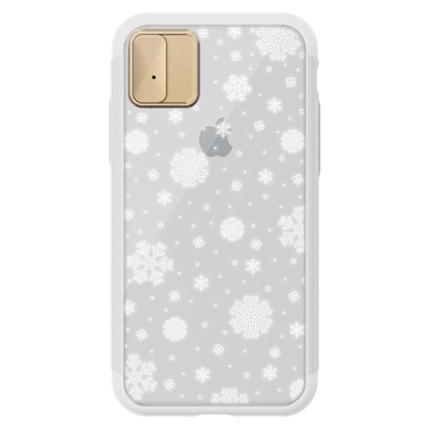 LIGHT UP CASE iPhone XS / X Lighting Shield Case Snow ゴールド