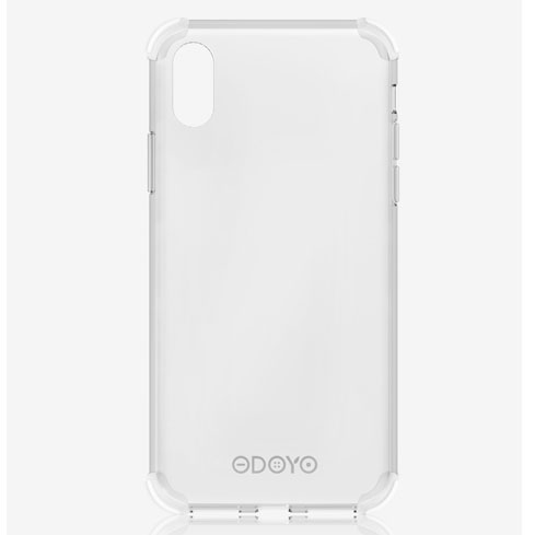 ODOYO iPhone XS Max Soft Edge Jelly Clear