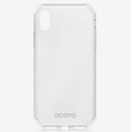 ODOYO iPhone XR Soft Edge Jelly Clear
