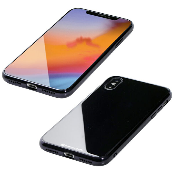 Deff iPhone XS / X Hybrid Case Etanze ブラック