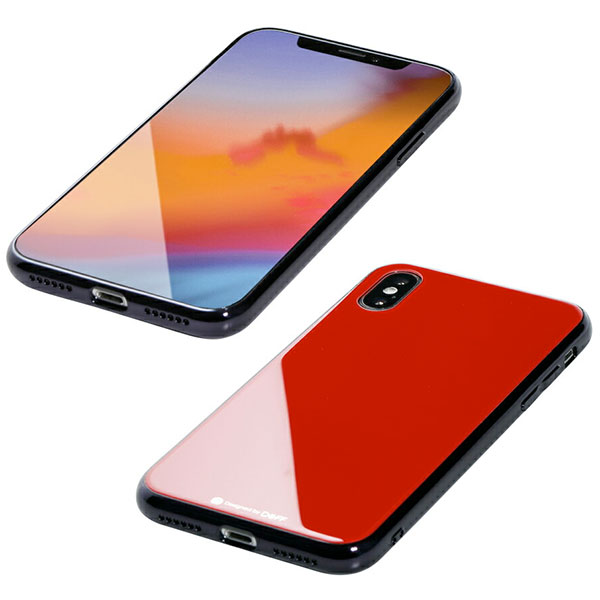 Deff iPhone XS / X Hybrid Case Etanze レッド