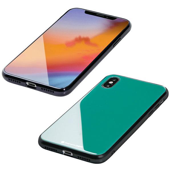 Deff iPhone XS / X Hybrid Case Etanze エメラルドグリーン
