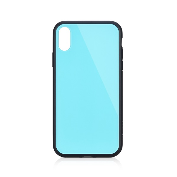 Simplism iPhone XR [GLASSICA] 背面ガラスケース(Solid color) ミントグリーン
