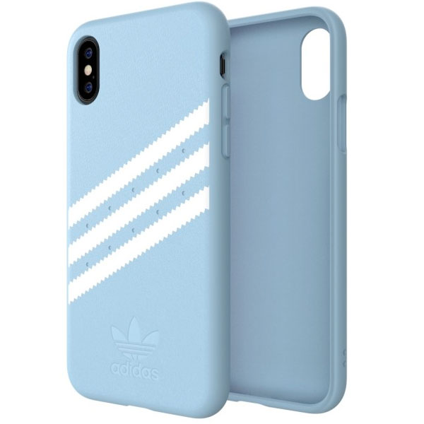adidas iPhone XS / X OR-Moulded Case GAZELLE Blue
