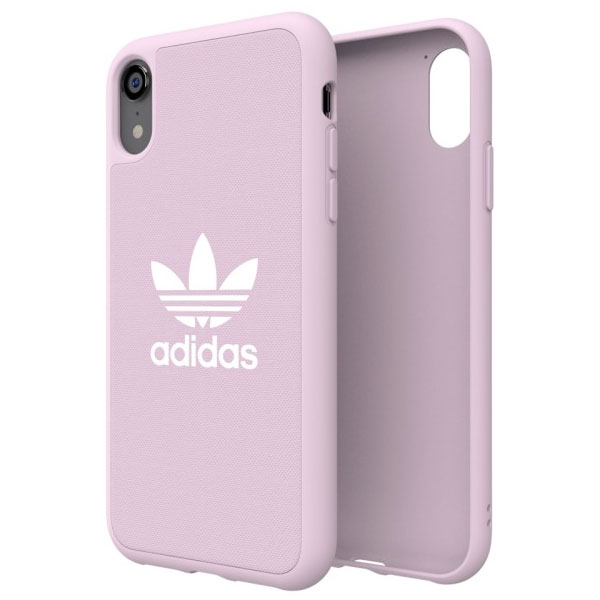 adidas iPhone XR OR-Adicolor-Moulded Case Clear Pink