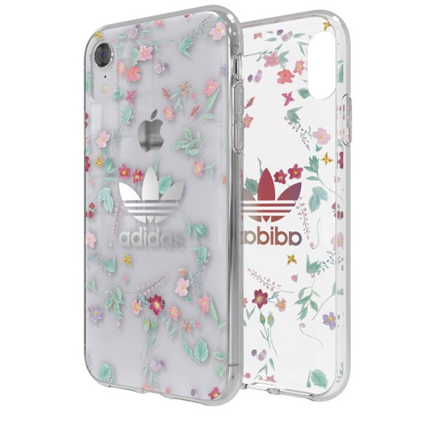 adidas iPhone XR OR-Clear Case Graphic AOP Colorful