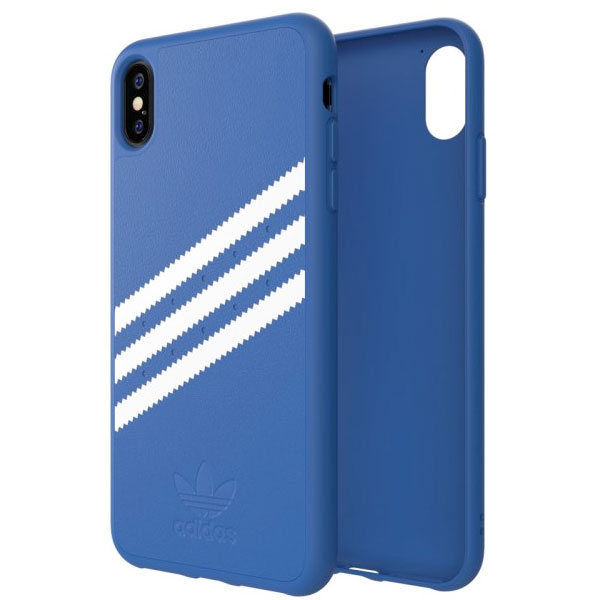 adidas iPhone XS Max OR-Moulded case Collegiate Royal/White