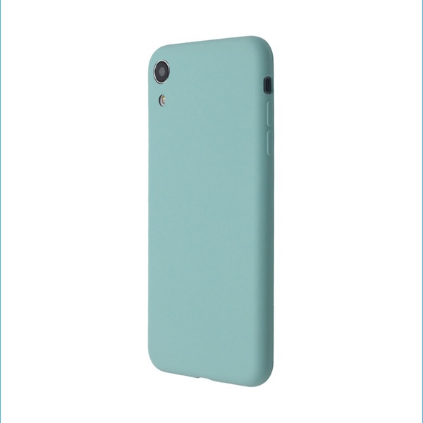 JM iPhone XR EXTRA SLIM SILICONE CASE Sea Blue