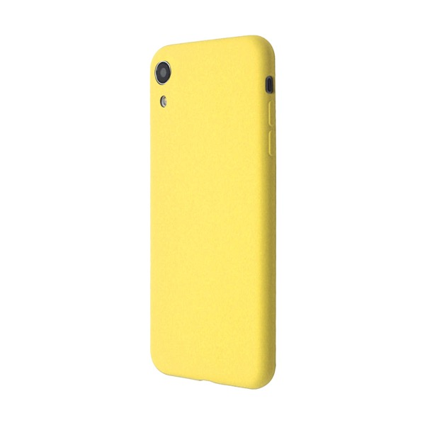 JM iPhone XR EXTRA SLIM SILICONE CASE Yellow
