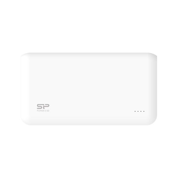 SiliconPower S100 PSE 10000mAh 2台同時充電が可能なモバイルバッテリー ホワイト