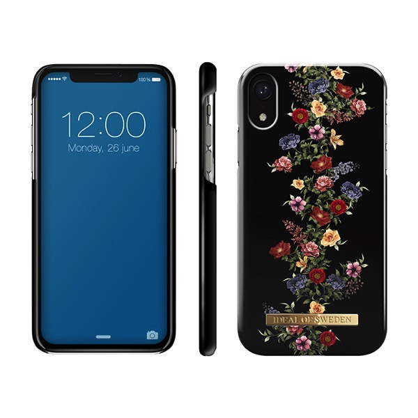 IDEAL OF SWEDEN iPhone XR FASHION CASE A/W 18 DARK FLORAL