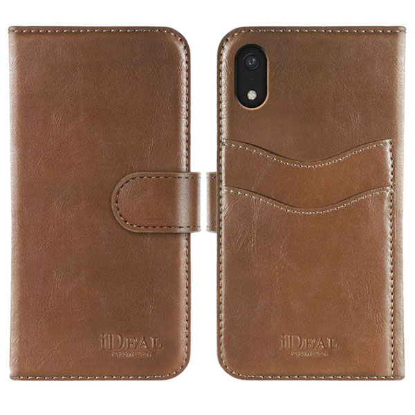 IDEAL OF SWEDEN iPhone XR MAGNET WALLET BROWN