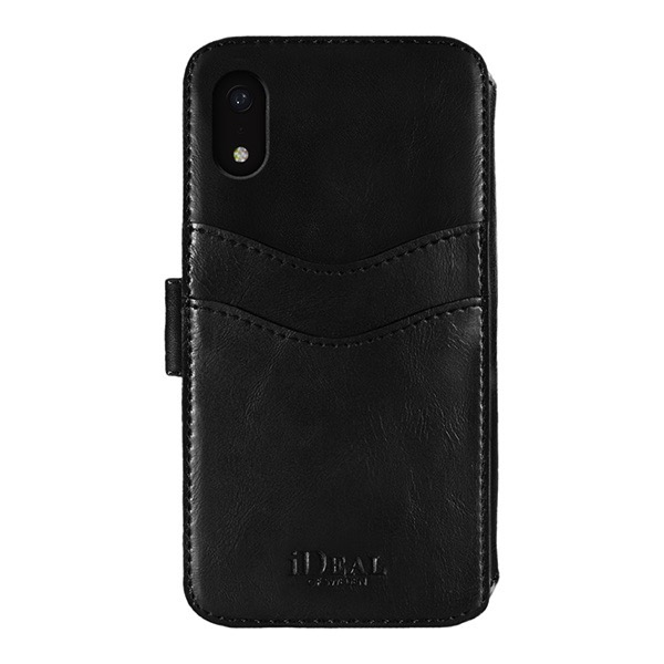 IDEAL OF SWEDEN iPhone XR STHLM WALLET BLACK