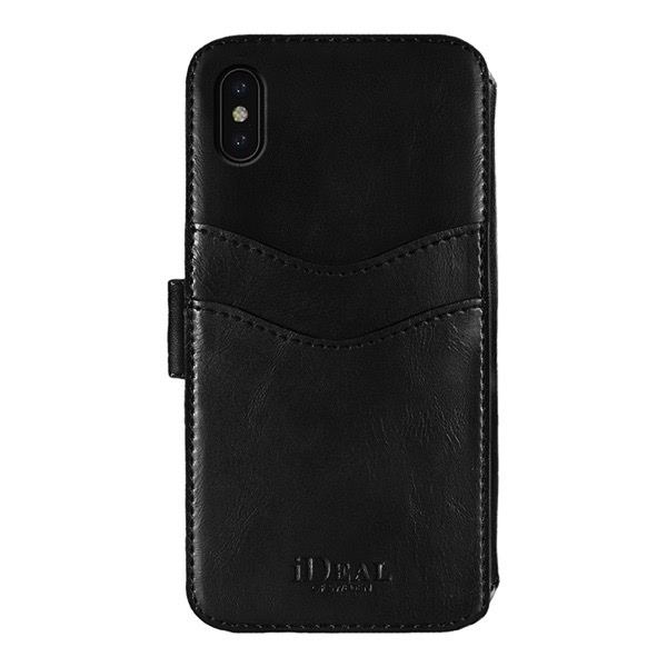 IDEAL OF SWEDEN iPhone XS Max STHLM WALLET BLACK