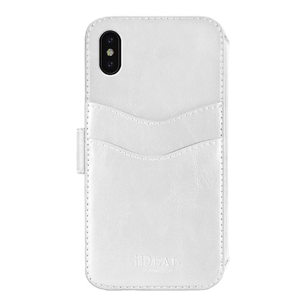 IDEAL OF SWEDEN iPhone XS Max STHLM WALLET WHITE