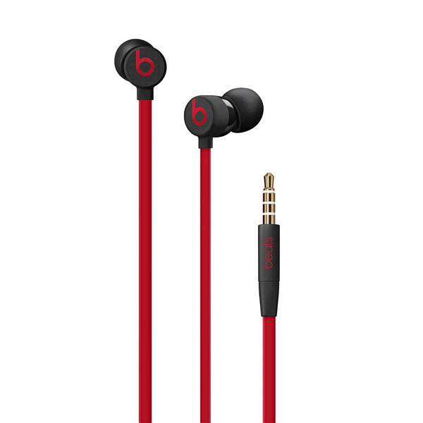 beats by dr.dre urBeats3 イヤフォン 3.5 mmプラグ - The Beats Decade Collection - レジスタンス・ブラックレッド