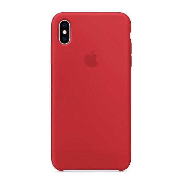 Apple iPhoneXS Max シリコーンケース - (PRODUCT)RED
