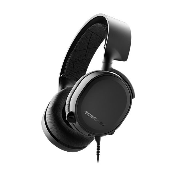 SteelSeries Arctis 3 ゲーミングヘッドセット 2019 Edition Black