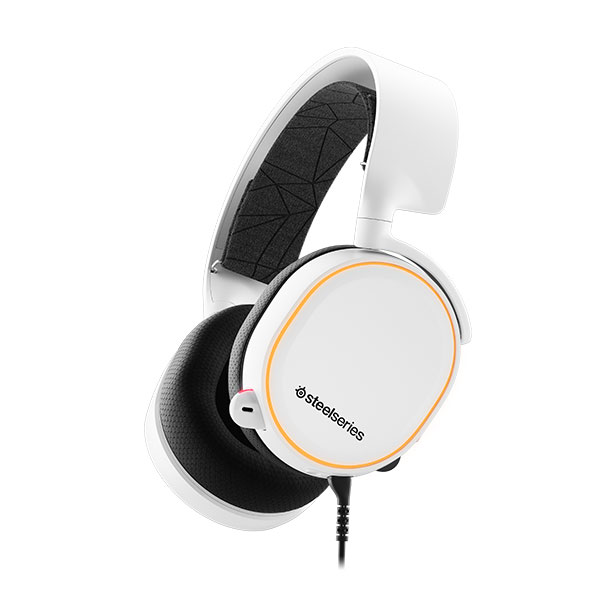 SteelSeries Arctis 5 ゲーミングヘッドセット 2019 Edition White