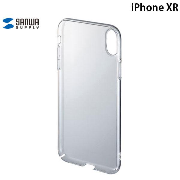 SANWA iPhone XR クリアハードケース
