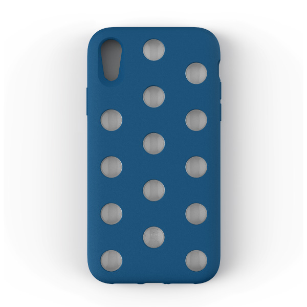 AndMesh iPhone XR Layer Case Cobalt Blue