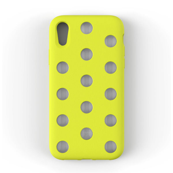 AndMesh iPhone XR Layer Case Lime Yellow