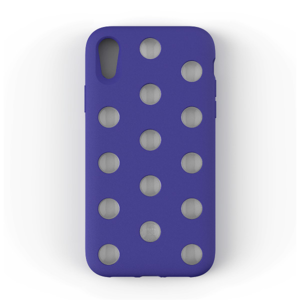 AndMesh iPhone XR Layer Case Neo Blue