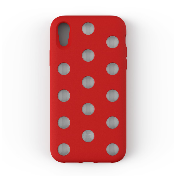AndMesh iPhone XR Layer Case Red