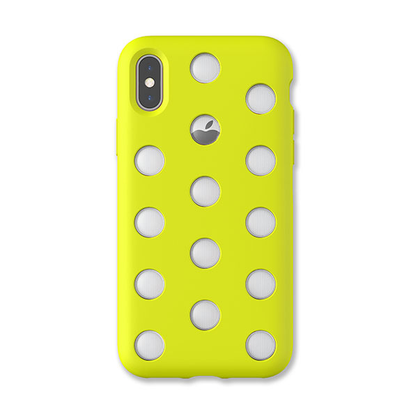 AndMesh iPhone XS / X Layer Case Lime Yellow