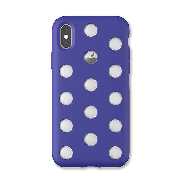 AndMesh iPhone XS / X Layer Case Neo Blue