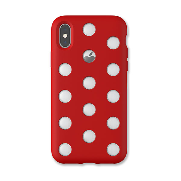 AndMesh iPhone XS / X Layer Case Red