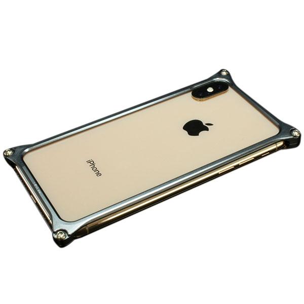 GILD design iPhone XS Max ソリッドバンパー グレー