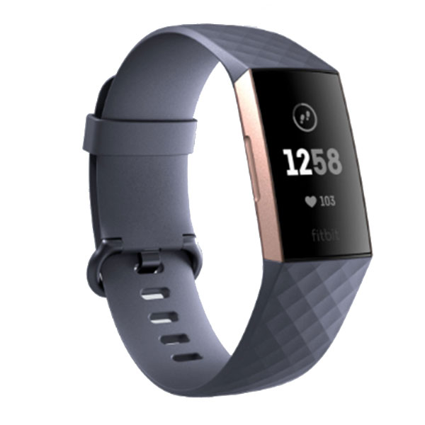 fitbit Charge3 心拍計+活動量計 リストバンド Blue Grey / Rose Gold
