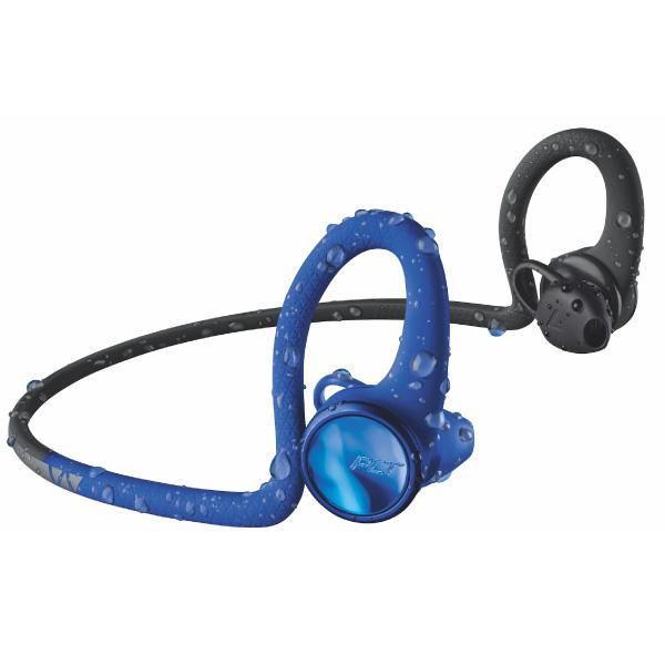 PLANTRONICS Bluetooth ステレオイヤホン BackBeat FIT 2100 ブルー/ブラック