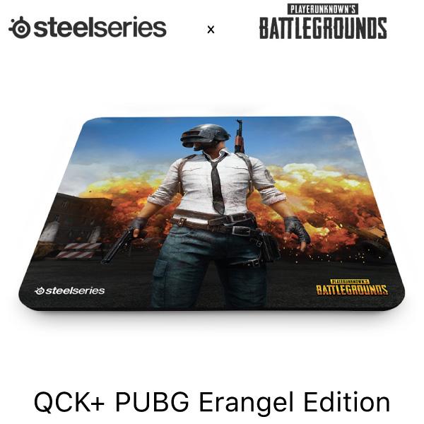 SteelSeries QcK+ ゲーミングマウスパッド PUBG Erangel Edition