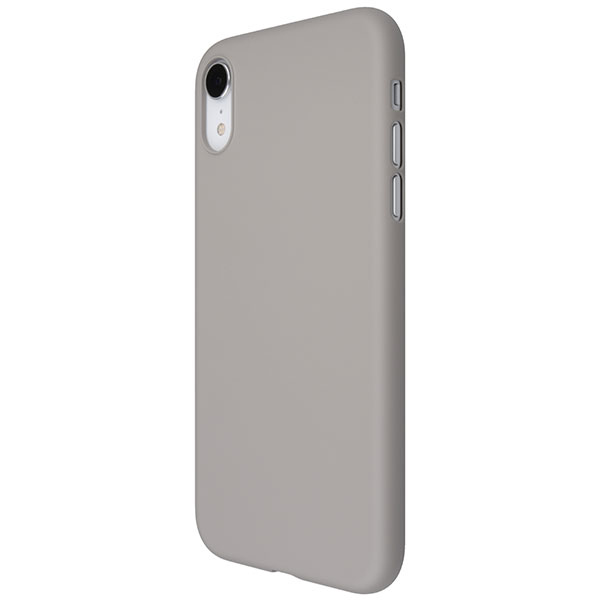 PowerSupport iPhone XR エアージャケット Rubber Gray