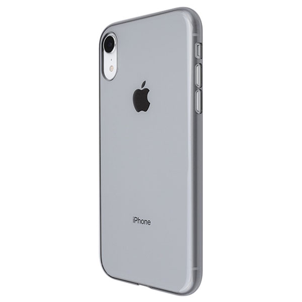PowerSupport iPhone XR エアージャケット Clear Black