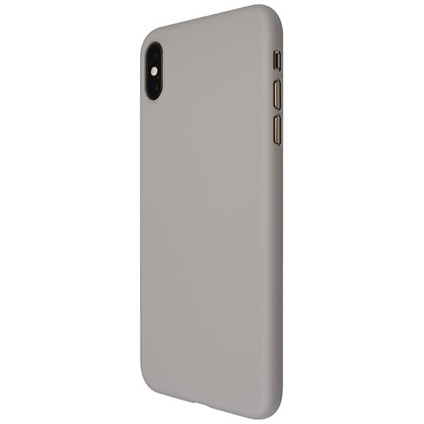 PowerSupport iPhone XS Max エアージャケット Rubber Gray