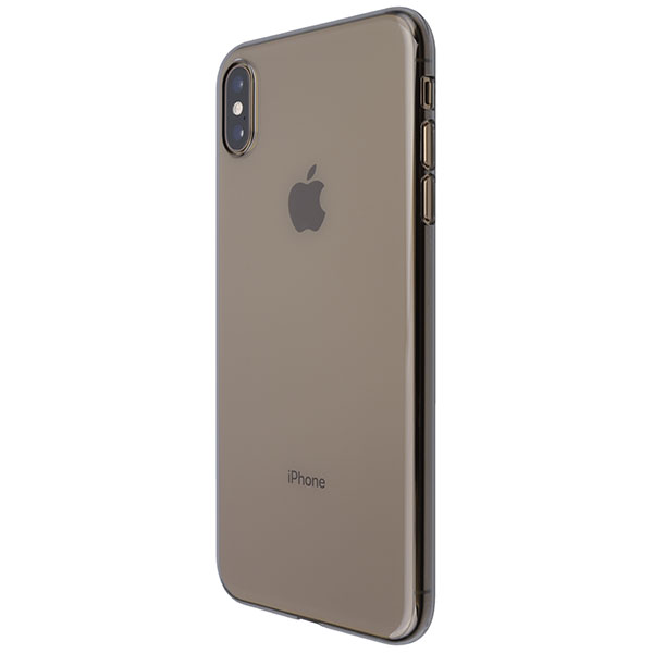 PowerSupport iPhone XS Max Air Jacket エアージャケット Clear Black
